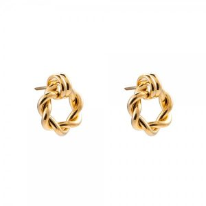 goldene ohrringen eliza stecker Tayna Schmuck & Accessoires