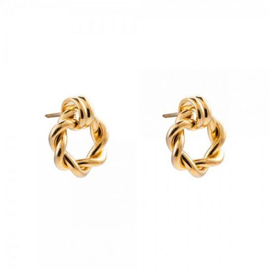 goldene ohrstecker eliza Tayna Schmuck & Accessoires
