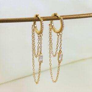 Gold-Ohrringe-Melissa Tayna Schmuck & Accessoires