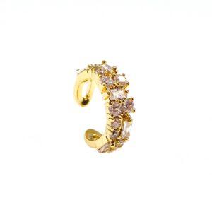 Gold - Ear Cuff - Mina Tayna Schmuck & Accessoires