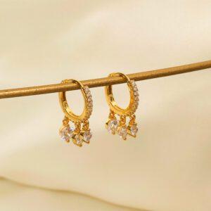 Gold-Ohrringe- Valentina Tayna Schmuck & Accessoires