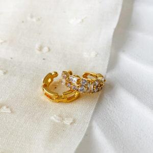 Mina - Lena -Ear Cuff -Gold Tayna Schmuck & Accessoires