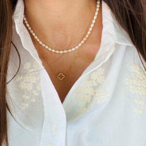 Perlenkette - Goldkette Tayna Schmuck & Accessoires