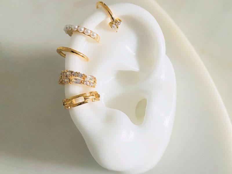 Gold- Ear Cuffs Tayna Schmuck & Accessoires